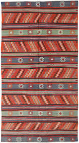 Kilim Törökország Szőnyeg 170X314 Keleti Kézi Szövésű Sötétpiros/Fekete (Gyapjú, Törökország)