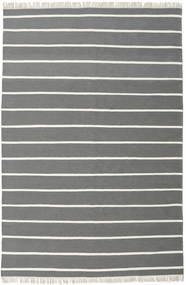 Dorri Stripe - Szürke Szőnyeg 200X300 Modern Kézi Szövésű Sötétszürke/Sötétzöld (Gyapjú, India)