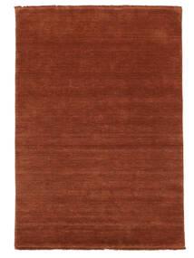 Handloom Fringes - Deep Rust Szőnyeg 140X200 Modern Rozsdaszín/Piros/Sötétpiros (Gyapjú, India)