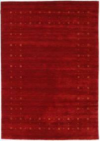 Loribaf Loom Delta - Piros Szőnyeg 160X230 Modern Sötétpiros/Rozsdaszín (Gyapjú, India)