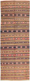 Kilim Fars Szőnyeg 165X438 Keleti Kézi Szövésű Világosbarna/Barna (Gyapjú, Perzsia/Irán)