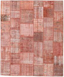 Patchwork Szőnyeg 251X300 Modern Csomózású Világos Rózsaszín/Sötétpiros Nagy (Gyapjú, Törökország)
