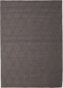 Svea - Sötétbarna Szőnyeg 250X350 Modern Kézi Szövésű Barna/Sötétbarna Nagy (Gyapjú, India)