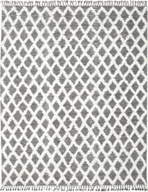 Inez - Sötétbarna/White Szőnyeg 250X350 Modern Kézi Szövésű Világosszürke/Sötétszürke Nagy (Gyapjú, India)