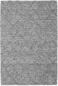 Rut - Sötétszürke Melange Szőnyeg 160X230 Modern Kézi Szövésű Világosszürke/Sötétbarna (Gyapjú, India)