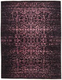 Damask Indiai Szőnyeg 237X308 Modern Csomózású Sötétbarna/Sötétlila ( India)
