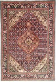 Tabriz Szőnyeg 196X295 Keleti Csomózású Barna/Sötétpiros (Gyapjú, Perzsia/Irán)