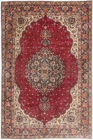 Tabriz Szőnyeg 197X305 Keleti Csomózású Sötétpiros/Barna (Gyapjú, Perzsia/Irán)