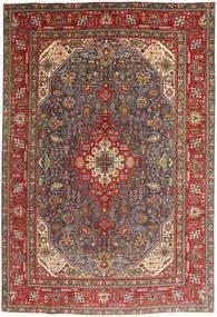 Tabriz Szőnyeg 200X295 Keleti Csomózású Sötétpiros/Barna/Sötétbarna (Gyapjú, Perzsia/Irán)