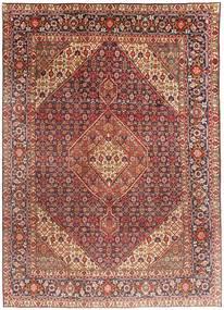 Tabriz Szőnyeg 203X291 Keleti Csomózású Sötétpiros/Világosbarna (Gyapjú, Perzsia/Irán)