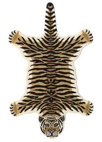 Tiger - Bézs Szőnyeg 100X160 Modern Sötétkék/Bézs (Gyapjú, India)