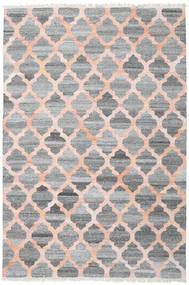 Kültéri Szőnyeg Kathi - Szürke/Coral Szőnyeg 200X300 Modern Kézi Szövésű Világosszürke/Sötétszürke/Világos Rózsaszín ( India)