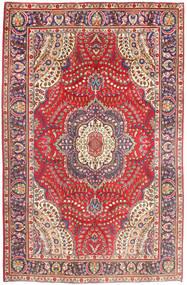 Tabriz Szőnyeg 197X299 Keleti Csomózású Rózsaszín/Rozsdaszín (Gyapjú, Perzsia/Irán)