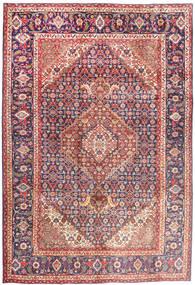 Tabriz Szőnyeg 202X304 Keleti Csomózású Barna/Rózsaszín (Gyapjú, Perzsia/Irán)