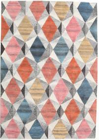 Prisma - Multi Szőnyeg 160X230 Modern Világosszürke/Világos Rózsaszín (Gyapjú, India)