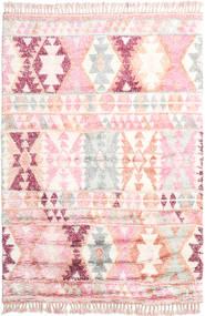 Märta - Rózsaszín Szőnyeg 200X300 Modern Csomózású Világos Rózsaszín/Bézs (Gyapjú, India)