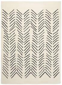 Scandic Lines - 2018 Szőnyeg 160X230 Modern Bézs/Sötétszürke (Gyapjú, India)