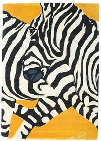 Zebra - 2018 Szőnyeg 160X230 Modern Bézs/Fekete (Gyapjú, India)