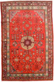 Samarkand Vintage Szőnyeg 161X250 Keleti Csomózású Rozsdaszín/Sötétpiros (Gyapjú, Kína)