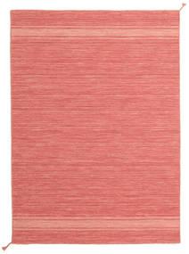 Ernst - Coral/Light_Coral Szőnyeg 140X200 Modern Kézi Szövésű Világos Rózsaszín/Piros (Gyapjú, India)
