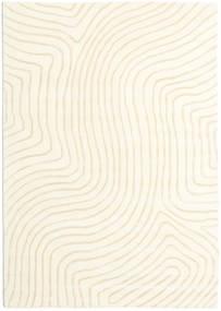 Woodyland - Bézs Szőnyeg 160X230 Modern Bézs/Bézs/Krém (Gyapjú, India)