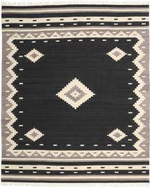 Tribal - Fekete Szőnyeg 250X300 Modern Kézi Szövésű Fekete/Bézs Nagy (Gyapjú, India)
