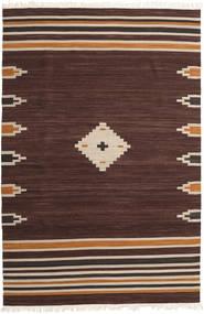 Tribal - Barna Szőnyeg 200X300 Modern Kézi Szövésű Sötétbarna (Gyapjú, India)