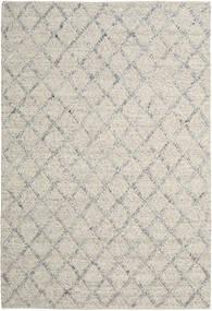 Rut - Ezüst/Szürke Melange Szőnyeg 200X300 Modern Kézi Szövésű Világosszürke/Sötét Bézs (Gyapjú, India)
