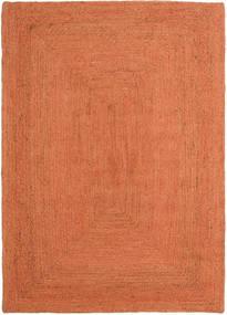 Kültéri Szőnyeg Frida Color - Narancssárga Szőnyeg 140X200 Modern Kézi Szövésű Narancssárga/Piros ( India)