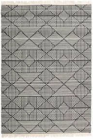 Mauri Szőnyeg 160X230 Modern Kézi Szövésű Sötétszürke/Világosszürke/Sötét Bézs (Gyapjú, India)