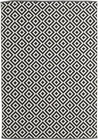 Torun - Fekete/Neutral Szőnyeg 170X240 Modern Kézi Szövésű Fekete/Sötét Bézs (Pamut, India)