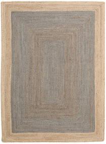 Frida Frame - Szürke/Natural Szőnyeg 160X230 Modern Kézi Szövésű Világosszürke/Bézs ( India)