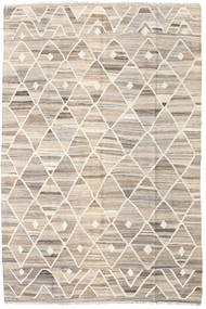 Kilim Ariana Szőnyeg 169X252 Modern Kézi Szövésű Világosszürke/Bézs (Gyapjú, Afganisztán)