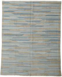 Kilim Modern Szőnyeg 233X295 Modern Kézi Szövésű Világosszürke/Sötétszürke (Gyapjú, Afganisztán)