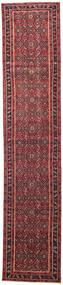 Hamadán Patina Szőnyeg 78X380 Keleti Csomózású Piros/Sötétpiros (Gyapjú, Perzsia/Irán)
