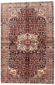 Hosseinabad Szőnyeg 145X223 Keleti Csomózású Sötétbarna/Barna (Gyapjú, Perzsia/Irán)