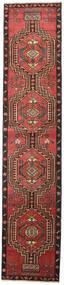 Ardebil Patina Szőnyeg 81X385 Keleti Csomózású Sötétpiros/Fekete (Gyapjú, Perzsia/Irán)