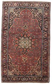 Bijar Szőnyeg 129X212 Keleti Csomózású Sötétpiros/Sötétbarna (Gyapjú, Perzsia/Irán)