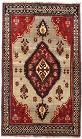 Qashqai Szőnyeg 127X214 Keleti Csomózású Sötétpiros/Sötétbarna (Gyapjú, Perzsia/Irán)