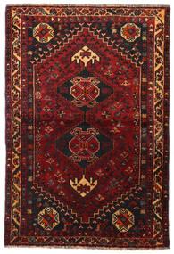 Qashqai Szőnyeg 113X166 Keleti Csomózású Sötétpiros/Sötétbarna (Gyapjú, Perzsia/Irán)
