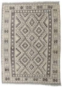 Kilim Afgán Old Style Szőnyeg 147X202 Keleti Kézi Szövésű Világosszürke/Sötétszürke (Gyapjú, Afganisztán)