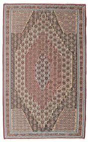 Kilim Senneh Szőnyeg 148X237 Keleti Kézi Szövésű Világosszürke/Világosbarna (Gyapjú, Perzsia/Irán)