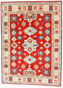 Kazak Szőnyeg 150X204 Keleti Csomózású Piros/Sötét Bézs (Gyapjú, Afganisztán)