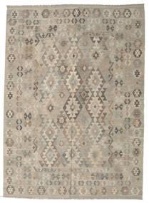 Kilim Afgán Old Style Szőnyeg 212X290 Keleti Kézi Szövésű Világosszürke (Gyapjú, Afganisztán)