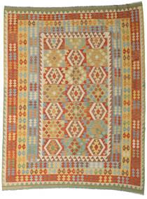 Kilim Afgán Old Style Szőnyeg 254X327 Keleti Kézi Szövésű Sötét Bézs/Sötétpiros Nagy (Gyapjú, Afganisztán)