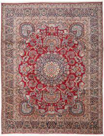 Kerman Szőnyeg 303X391 Keleti Csomózású Sötétszürke/Sötétpiros Nagy (Gyapjú, Perzsia/Irán)