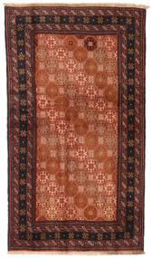 Balouch Szőnyeg 100X172 Keleti Csomózású Piros/Fekete (Gyapjú, Perzsia/Irán)