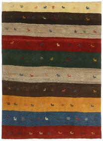 Gabbeh Perzsa Szőnyeg 123X176 Modern Csomózású Sötétzöld/Piros (Gyapjú, Perzsia/Irán)