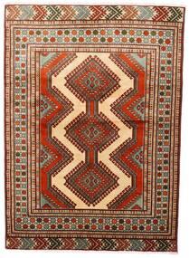 Turkaman Szőnyeg 125X172 Keleti Csomózású Sötétpiros/Sötétbarna (Gyapjú, Perzsia/Irán)