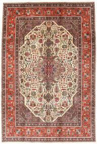 Tabriz Szőnyeg 194X288 Keleti Csomózású Sötétbarna/Világosbarna (Gyapjú, Perzsia/Irán)